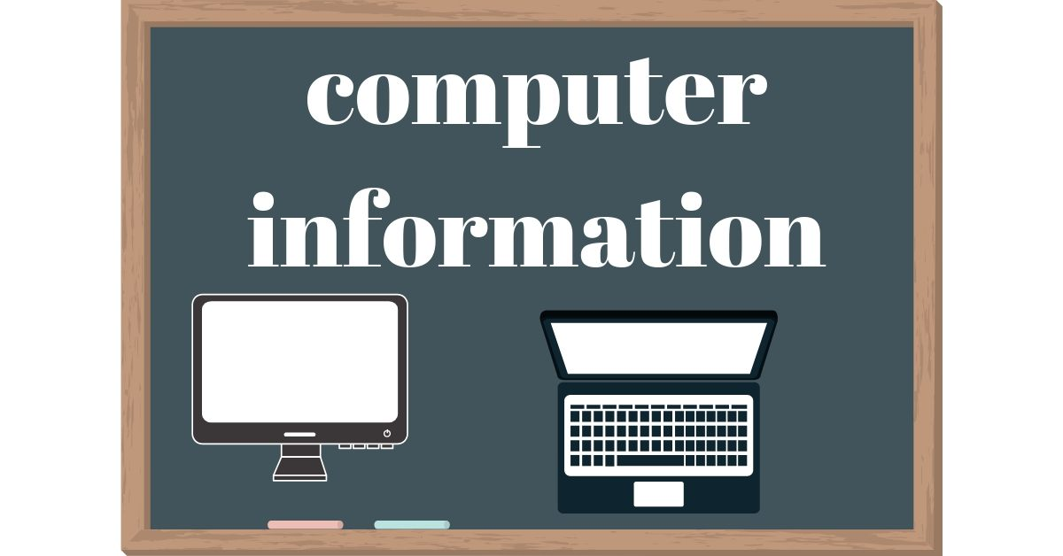 computer information