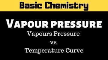 Vapour Pressure – Basic chemistry