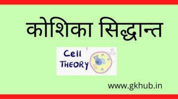 Cell Theory-कोशिका सिद्धान्त || जीव विज्ञान
