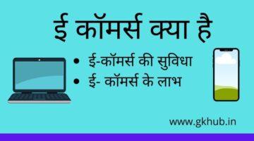 E Commerce in Hindi -ई कॉमर्स क्या है || पूरी जानकारी पढ़ें