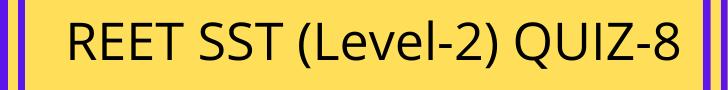 REET Exam Level 2 Quiz-8