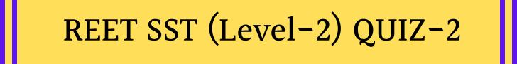 REET Exam Level 2 Part-2