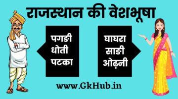 Rajasthan Ki Veshbhusha – राजस्थान की वेशभूषा || Rajasthan GK