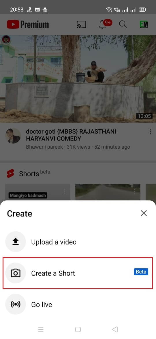 How to Create YouTube Shorts Video