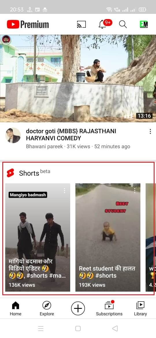 How to Watch YouTube Shorts