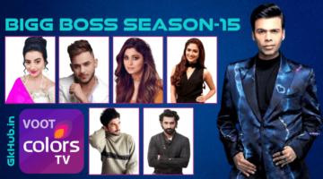 बिग बॉस 15 – Bigg Boss Season 15 Contestant List in Hindi
