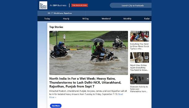 Weather Web