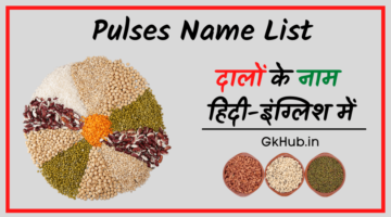 100 Pulses Name in Hindi and English | With Pictures | दालों के नाम